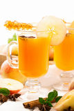 Spiced apple cider Royalty Free Stock Photography