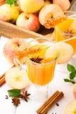 Spiced apple cider Stock Photos
