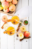 Spiced apple cider Stock Image