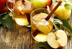 Spiced apple tea Stock Photography