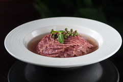 Spiced beef Stock Photography