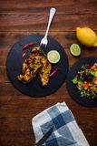 Spiced chicken Royalty Free Stock Photos
