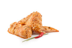 Spiced Chicken Wings Stock Images