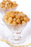 Spiced chickpeas Stock Photo