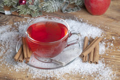 Spiced Christmas Tea Stock Photography