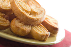 Spiced cookies isolated Stock Images