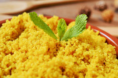 Spiced couscous Stock Photos
