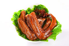 Spiced duck wings Royalty Free Stock Photo