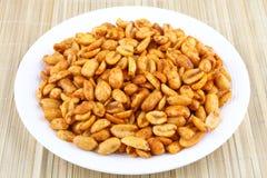 Spiced fried Peanuts- Royalty Free Stock Photo