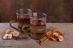 Spiced Fruit Tea Royalty Free Stock Photos