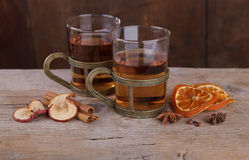 Spiced Fruit Tea Royalty Free Stock Images