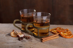 Spiced Fruit Tea Royalty Free Stock Photo