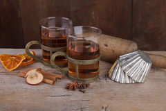 Spiced Fruit Tea Royalty Free Stock Image