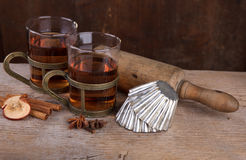 Spiced Fruit Tea Stock Photography