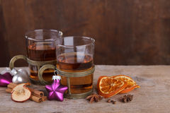 Spiced Fruit Tea Stock Photo