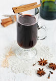 Spiced hot wine Royalty Free Stock Image