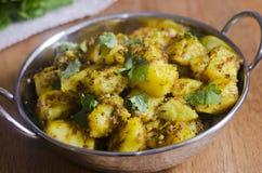 Spiced kartoflany curry zdjęcia royalty free