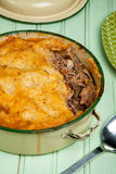 Spiced Lamb Pie royalty free stock photo