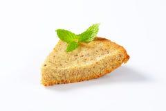 Spiced lemon nut cake Royalty Free Stock Photography