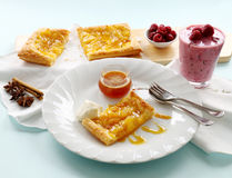 Spiced Pineapple Galette Royalty Free Stock Photos