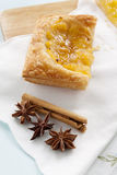 Spiced Pineapple Galette Royalty Free Stock Photo