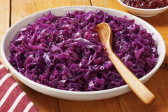Spiced Red Cabbage with Apple Royalty Free Stock Photos