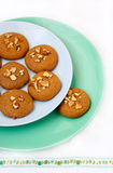 Spiced treacle cookies Royalty Free Stock Photos