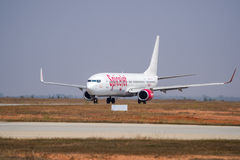 SpiceJet Boeing 737-Stock bild Arkivfoton