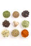 Spices ассортимент Стоковое фото RF