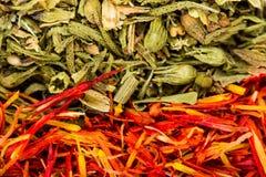 Spices макрос Стоковая Фотография RF