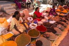Spices продавец Стоковые Фотографии RF