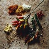 spices различное Стоковое Изображение RF