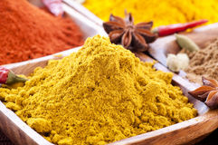 Spices. Exotically Spice Mix different sorts stock photo