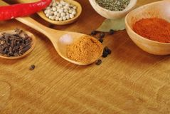 Spices Royalty Free Stock Photography