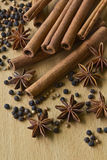 Spices. Variety of Spices and ,Food and cuisine ingredients Stock Images