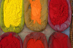 Spices. Photo of indian spices for sale on streets royalty free stock photography