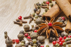 Free Spices Royalty Free Stock Image - 43325916