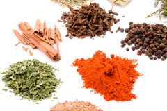 Spices Stock Photography
