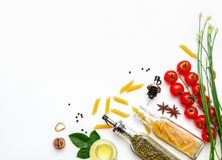 Spices And Vegetable For Healthy And Cooking. Royalty Free Stock Photos