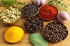 Spices ang herbs Royalty Free Stock Photo