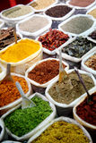 Spices at Anjuna flea market in Goa, India Royalty Free Stock Photography