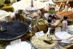 Spices and aromatic salt Stock Photography
