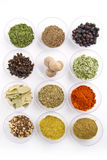 Spices assortment Royalty Free Stock Image
