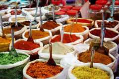 Free Spices At Anjuna Flea Market In Goa, India Royalty Free Stock Image - 52174676