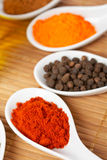 Spices background Stock Photography
