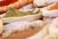 Spices bag Stock Photography