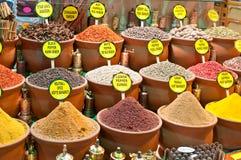 Spices bazaar Stock Photos