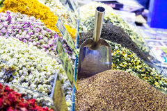 Spices bazaar Royalty Free Stock Image