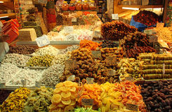 Spices bazzar in istanbul Royalty Free Stock Image