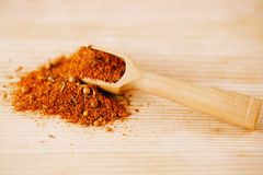 Spices BBQ Rub mix of Herbs Stock Photo